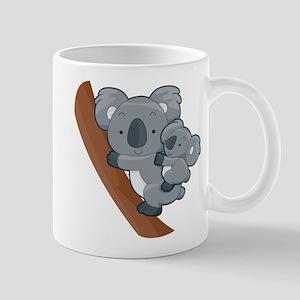 Two Koalas Mug