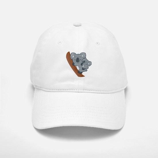Two Koalas Baseball Cap