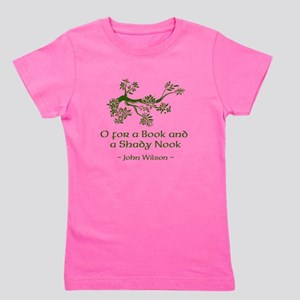 O for a Book Girl's Tee