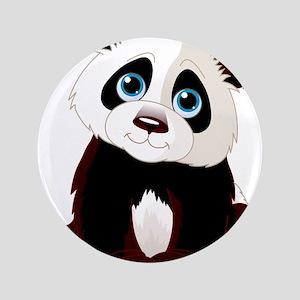 "Baby Panda 3.5"" Button"