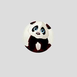 Baby Panda Mini Button