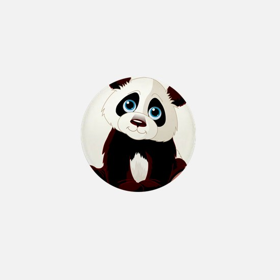 Baby Panda Mini Button