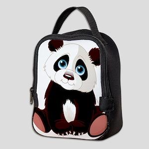 Baby Panda Neoprene Lunch Bag