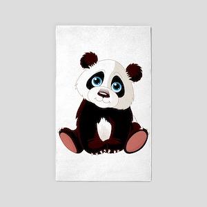 Baby Panda 3'x5' Area Rug