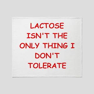 tolerate Throw Blanket