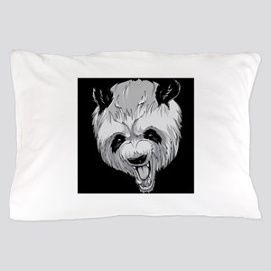 Angry Panda Pillow Case