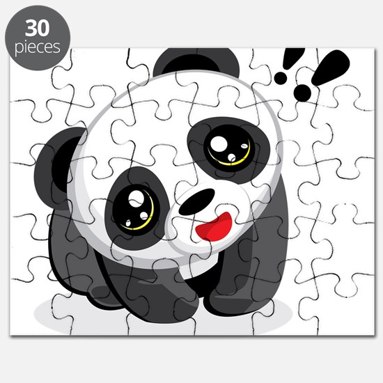 Excited Panda Puzzle