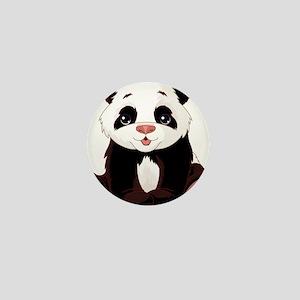 Cute Baby Panda Mini Button
