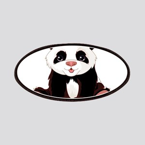 Cute Baby Panda Patches
