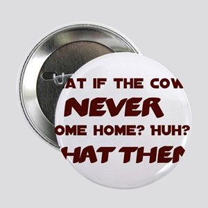 """What if the Cows Never Come Home? 2.25"""" Button"""