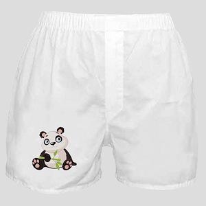 Baby Panda with Bamboo Boxer Shorts