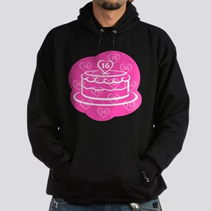 SWEET 16 BIRTHDAY CAKE Hoodie