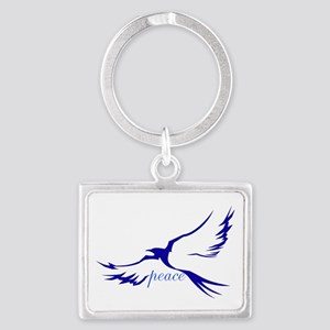 Peace Dove Keychains