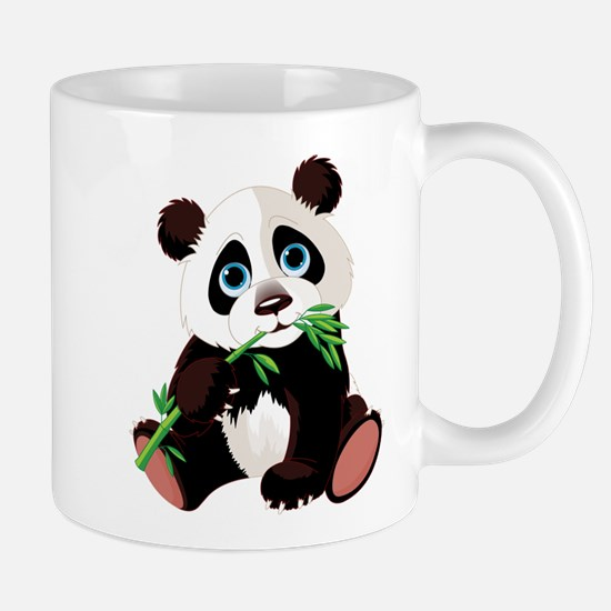 Panda Eating Bamboo Mug
