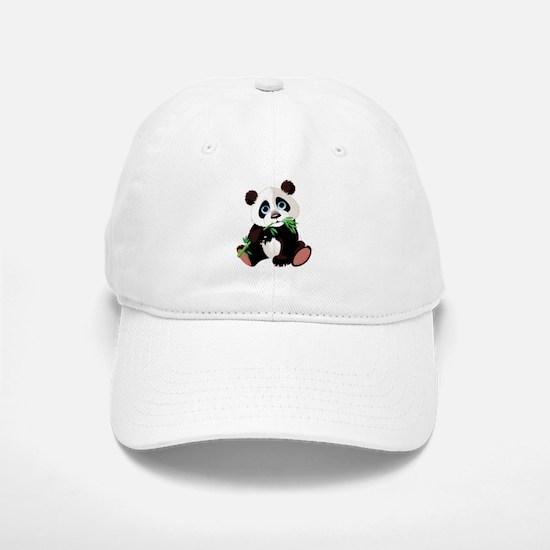 Panda Eating Bamboo Baseball Baseball Baseball Cap
