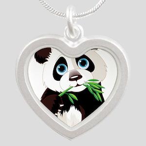 Panda Eating Bamboo Necklaces
