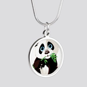 Panda Eating Bamboo Necklaces