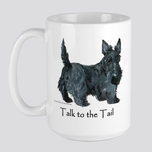 Scottish Terrier Attitude Large Mug