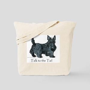 Scottish Terrier Attitude Tote Bag