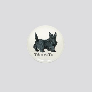 Scottish Terrier Attitude Mini Button
