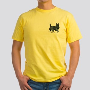Scottish Terrier Attitude Yellow T-Shirt