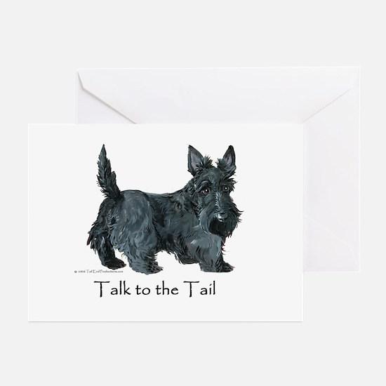 Scottish Terrier Attitude Greeting Cards (Pk of 10