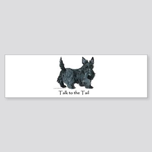 Scottish Terrier Attitude Sticker (Bumper)