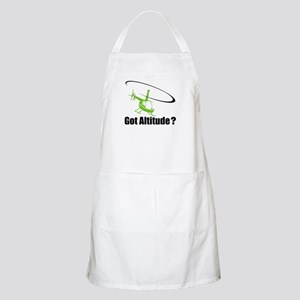 Got Altitude? White BBQ Apron