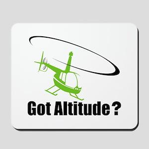 Got Altitude? White Mousepad