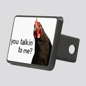 Funny Attitude Chicken Hitch Cover