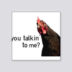 Funny Attitude Chicken Sticker