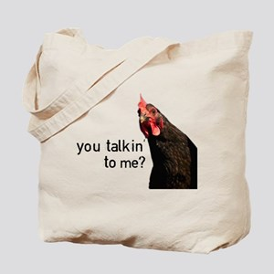 Funny Attitude Chicken Tote Bag