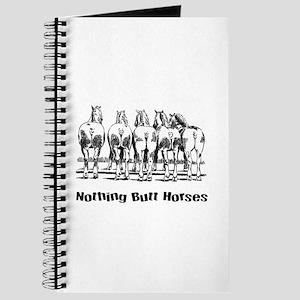 Nothing Butt Horses Journal