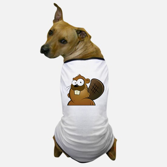 Cartoon Beaver Dog T-Shirt