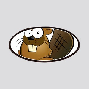 Cartoon Beaver Patches