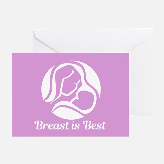 Breast is Best Greeting Card