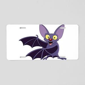 Funny Bat Aluminum License Plate