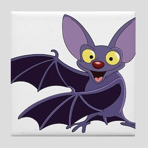 Funny Bat Tile Coaster