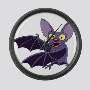 Funny Bat Large Wall Clock