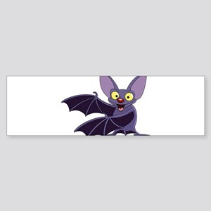 Funny Bat Bumper Sticker