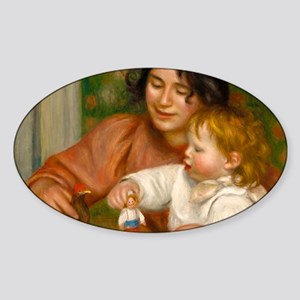Child with Toys by Auguste Renoir Sticker