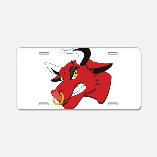 Raging Bull Aluminum License Plate