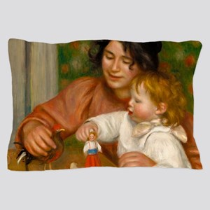 Child with Toys by Auguste Renoir Pillow Case