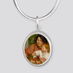 Child with Toys by Auguste Renoir Necklaces