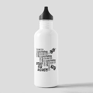 Cross Country Runs Water Bottle