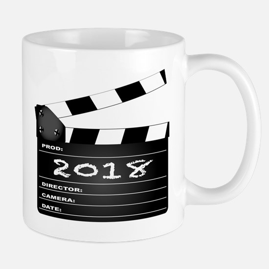 2018 Clapper Board Mugs
