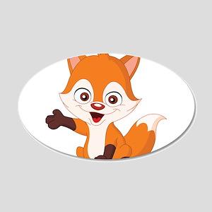 Baby Fox Wall Decal