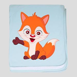 Baby Fox baby blanket