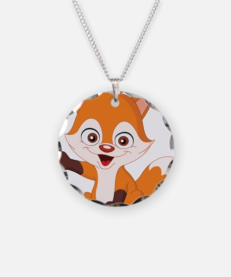 Baby Fox Necklace