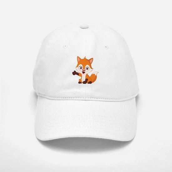 Baby Fox Baseball Baseball Baseball Cap